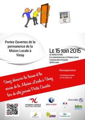 Journ e portes ouvertes vinay mission locale - Mission locale portes de provence ...